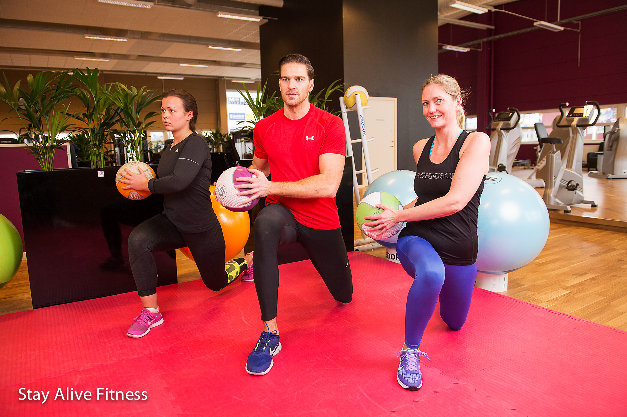 Group Training - stayalivefitness.se